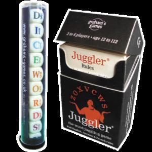 Dicewords and Juggler together